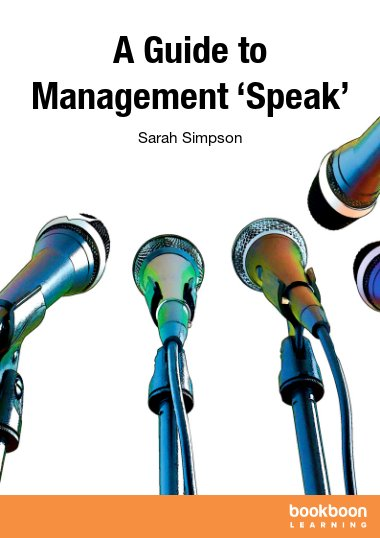 A Guide to Management 'Speak'