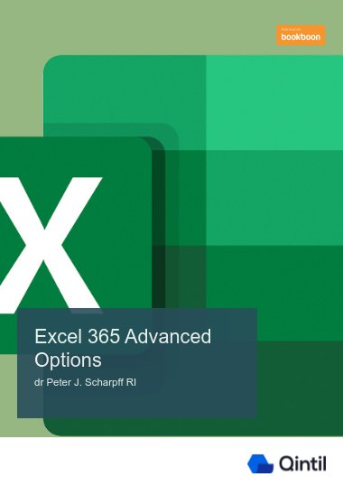 Excel 365 Advanced Options