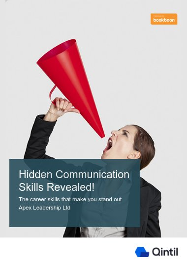 Hidden Communication Skills Revealed!
