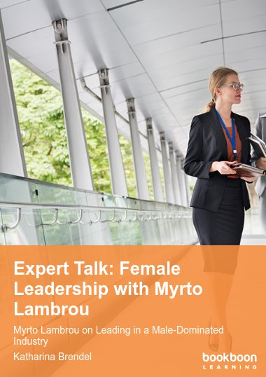 Expert Talk: Female Leadership with Myrto Lambrou