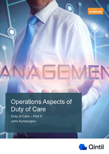 Operations Aspects of Duty of Care