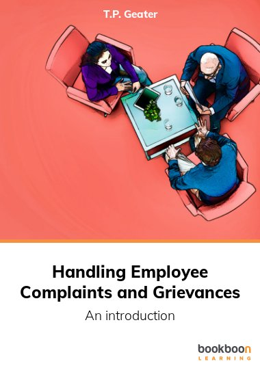 Handling Employee Complaints and Grievances