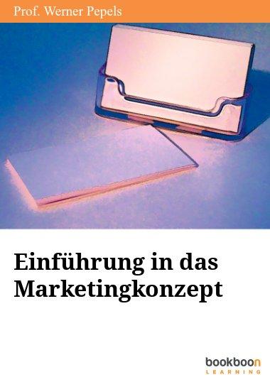 Einführung in das Marketingkonzept