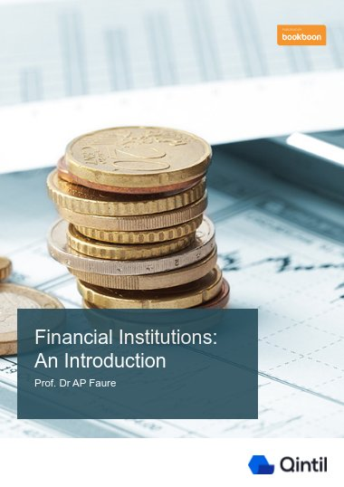 Financial Institutions: An Introduction