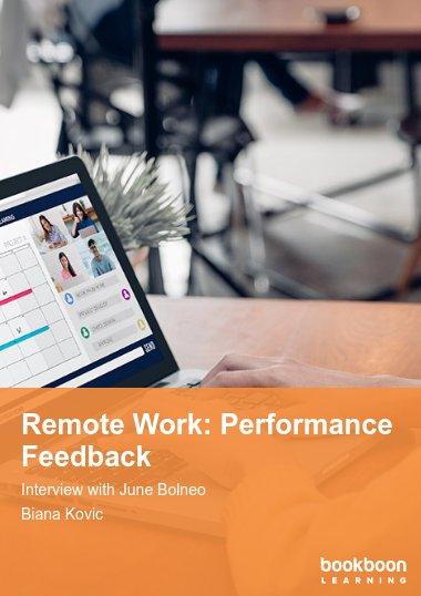 Remote Work: Performance Feedback