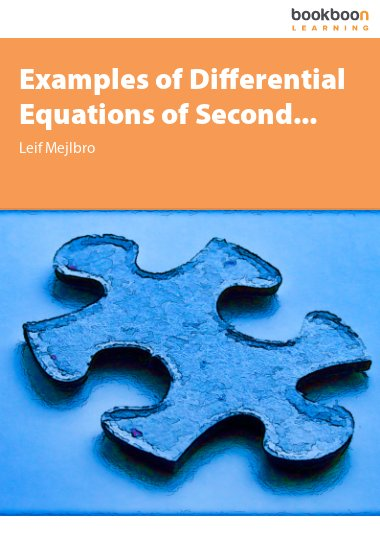 Examples of Differential Equations of Second...