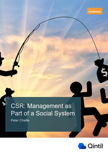 CSR: Management as Part of a Social System