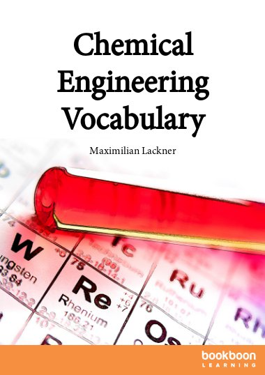 Chemical Engineering Vocabulary
