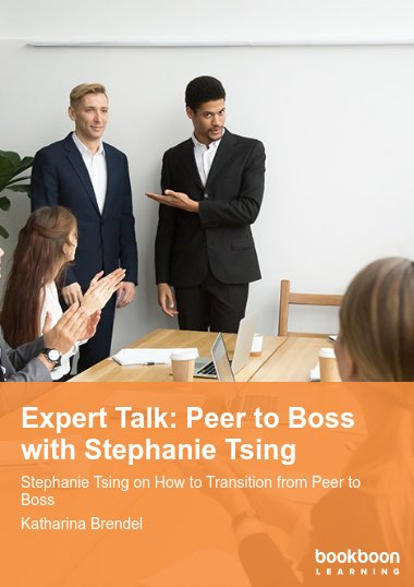 Expert Talk: Peer to Boss with Stephanie Tsing