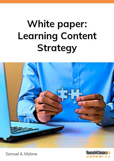 White paper: Learning Content Strategy