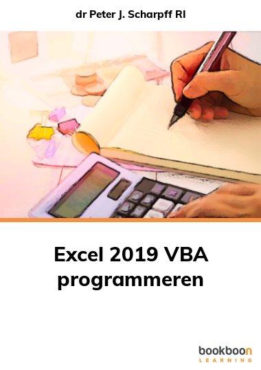 Excel 2019 VBA programmeren