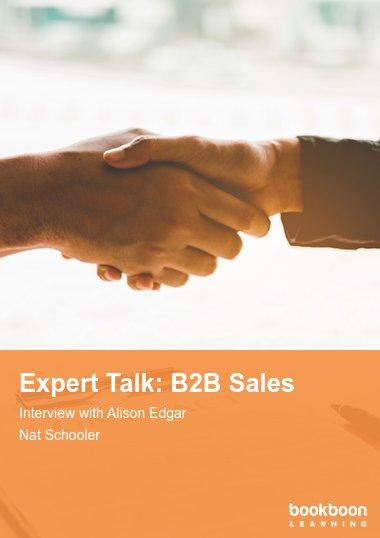 Expert Talk: B2B Sales