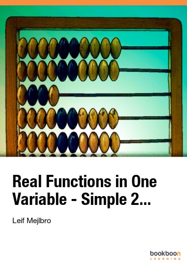 Real Functions in One Variable - Simple 2...
