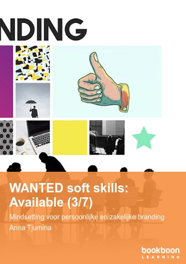 Available: Soft skill voor onmisbare professionals