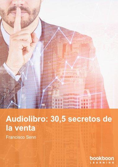 Audiolibro: 30,5 secretos de la venta