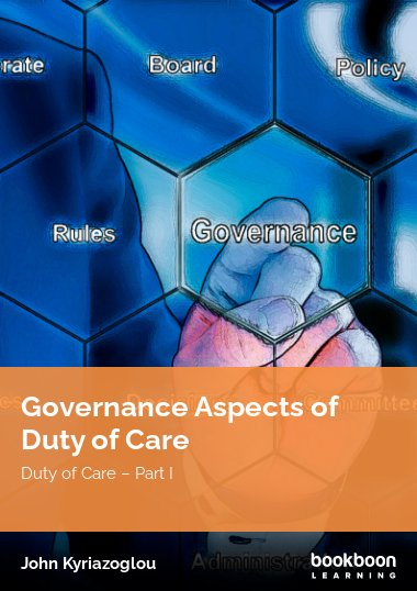 Governance Aspects of Duty of Care