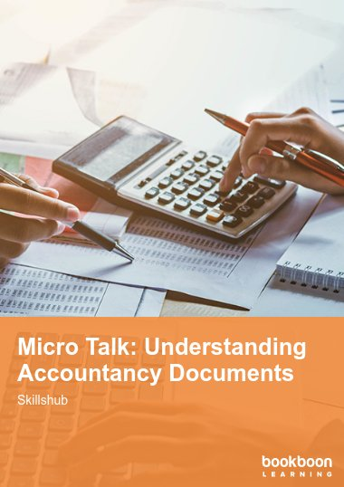 Micro Talk: Understanding Accountancy Documents
