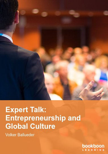 Expert Talk: Entrepreneurship and Global Culture