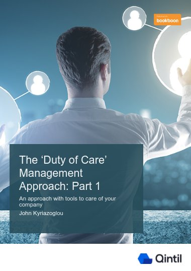The 'Duty of Care' Management Approach: Part 1