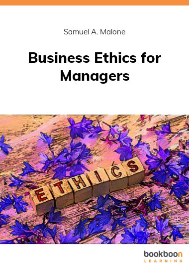 Business Ethics for Managers