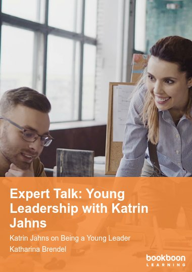Expert Talk: Young Leadership with Katrin Jahns