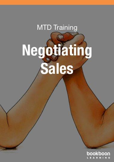 Negotiating Sales