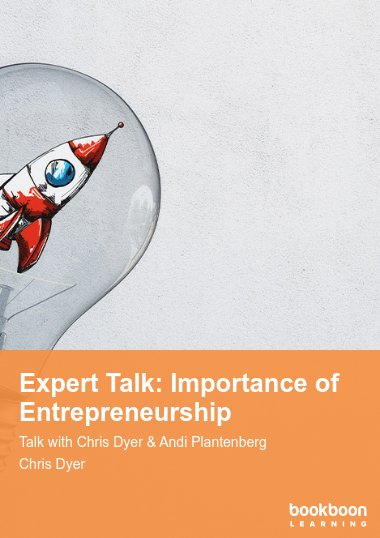 Expert Talk: Importance of Entrepreneurship
