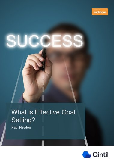 What is Effective Goal Setting?
