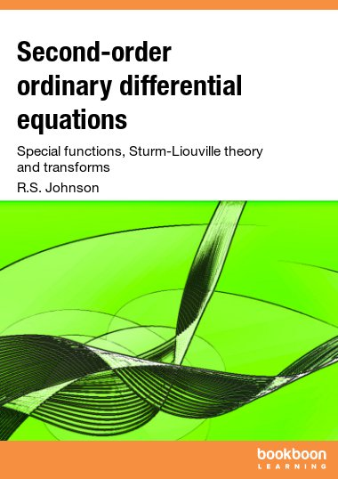 Second-order ordinary differential equations