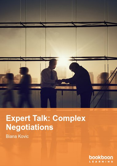 Expert Talk: Complex Negotiations