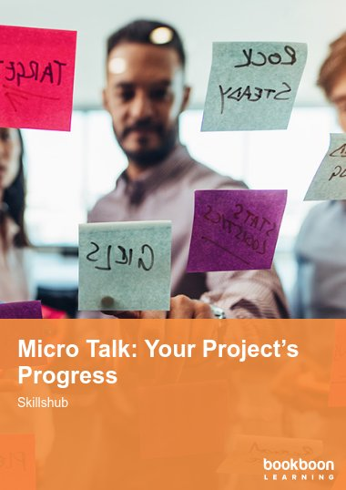 Micro Talk: Your Project's Progress