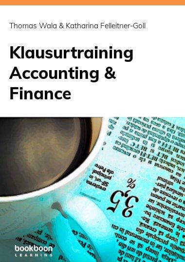 Klausurtraining Accounting & Finance
