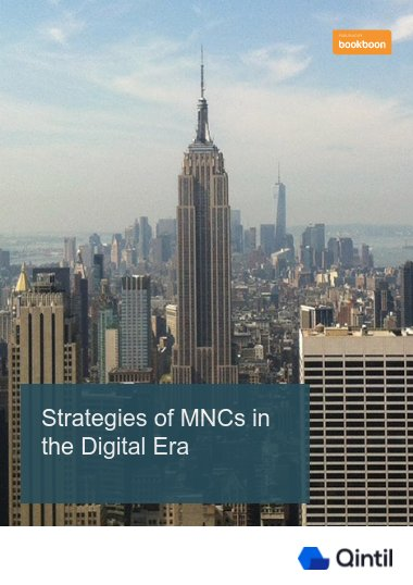 Strategies of MNCs in the Digital Era