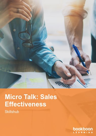 Micro Talk: Sales Effectiveness