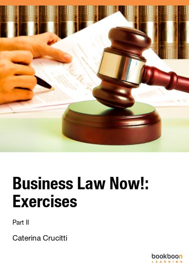 Business Law Now!: Exercises