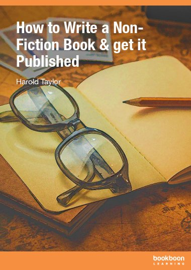 How to Write a Non-Fiction Book & get it Published