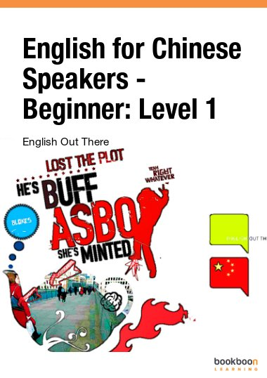 English for Chinese Speakers - Beginner: Level 1