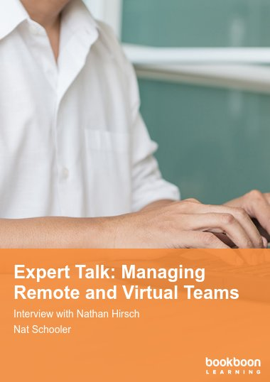 Expert Talk: Managing Remote and Virtual Teams