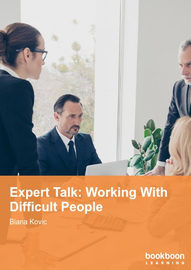 Expert Talk: Working With Difficult People