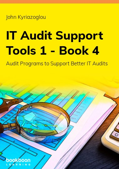 IT Audit Support Tools 1 - Book 4
