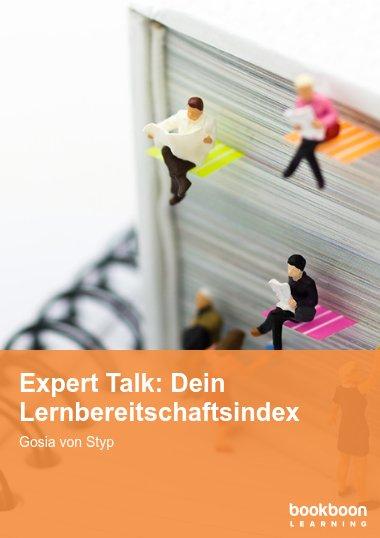 Expert Talk: Dein Lernbereitschaftsindex
