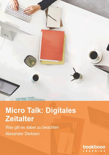 Micro Talk: Digitales Zeitalter