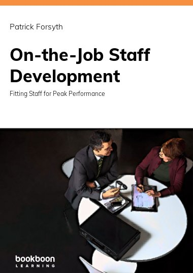 On-the-Job Staff Development