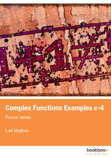 Complex Functions Examples c-4