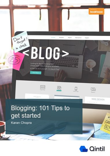 Blogging: 101 Tips to get started