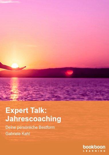 Expert Talk: Jahrescoaching