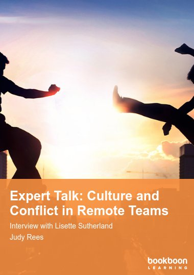 Expert Talk: Culture and Conflict in Remote Teams
