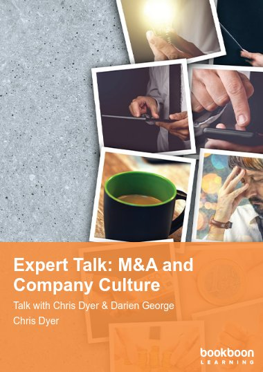 Expert Talk: M&A and Company Culture