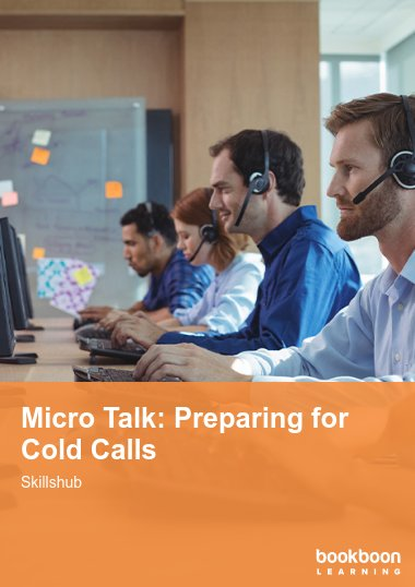 Micro Talk: Preparing for Cold Calls