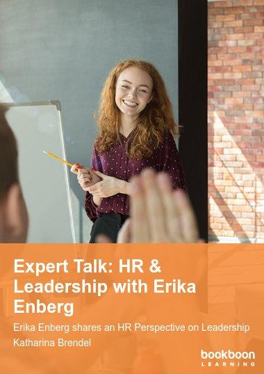 Expert Talk: HR & Leadership with Erika Enberg